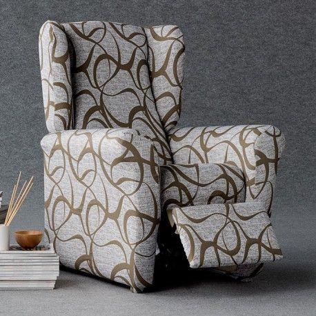 Redonnez une seconde jeunesse a votre fauteuil relax avec cette housse fauteuil extensible aux motifs graphiques spécialement conçue pour votre fauteuil relax