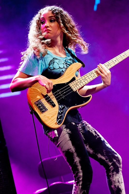 My mind is always blown by the bass playing prodigy Tal Wilkenfeld. Plays nightly with world's best. What'd you do at 24?
