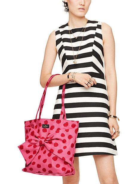 on purpose canvas tote - Kate Spade New York