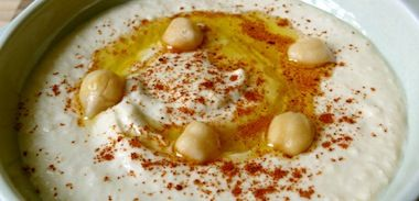 Hummus recipe for Bamix