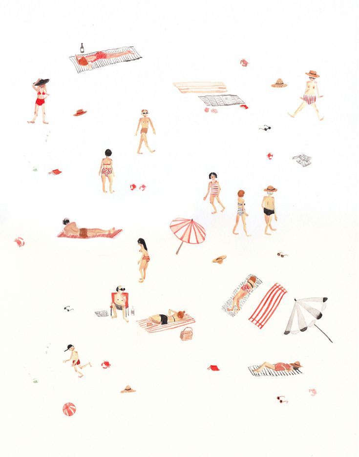 Sarah Burwash - Beach