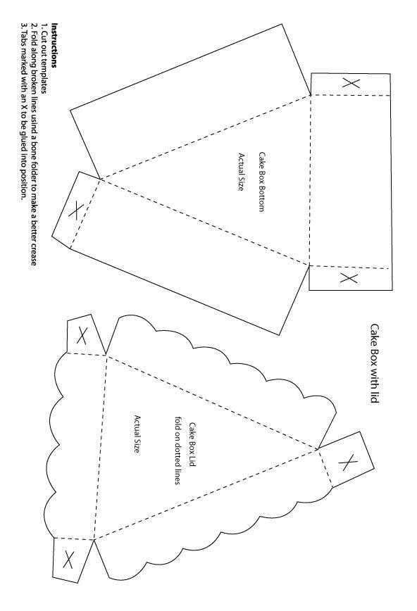 Бумажный торт - Бумага картон - Мастерская - Сайт домашних мастеров