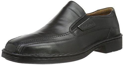 Oferta: 95€ Dto: -33%. Comprar Ofertas de Josef Seibel Schuhfabrik GmbH Bradford 07 38288 - Mocasines de cuero para hombre, color negro, talla 48 barato. ¡Mira las ofertas!