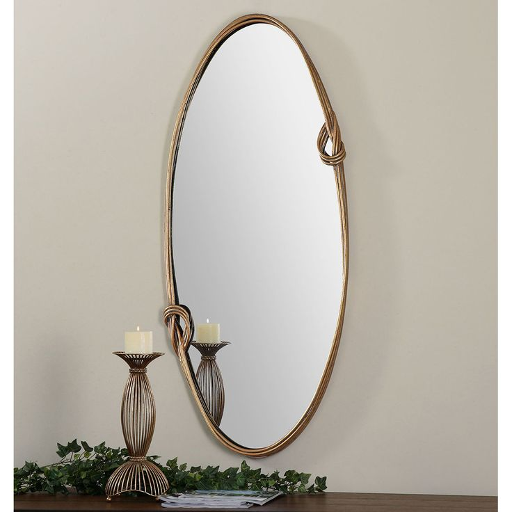Photos On Uttermost Giao Gold Oval Mirror