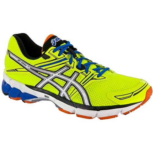 Click Image Above To Purchase: Asics Asics Men's Running Shoes Highlighter  Yellow/white/blue