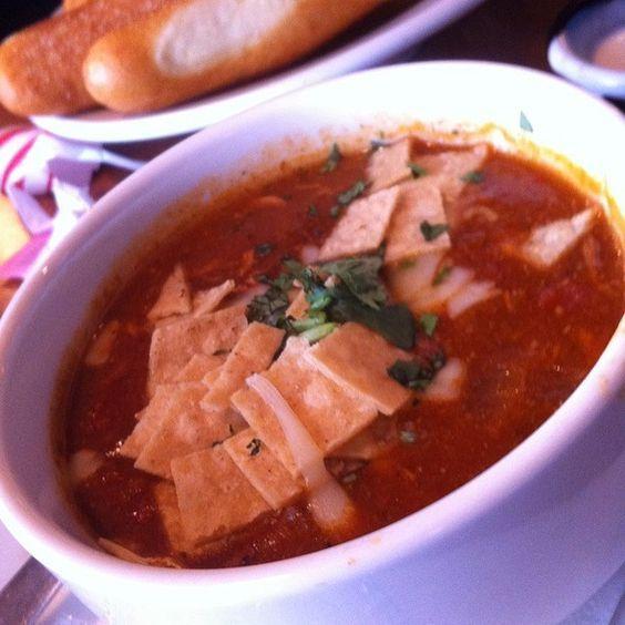 TGI Friday's Restaurant Copycat Recipes: Chicken Tortilla Soup