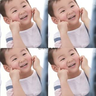 Instagram photo by twou_2me - น่ารักอะไรขนาดนี้ . . #Songminguk #Songtriplets #Minguk #민국이 cr. on pic