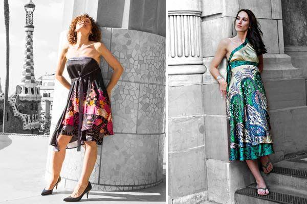 Solomana silk skirts #faldas #seda #silk más en www.comocombinar.com