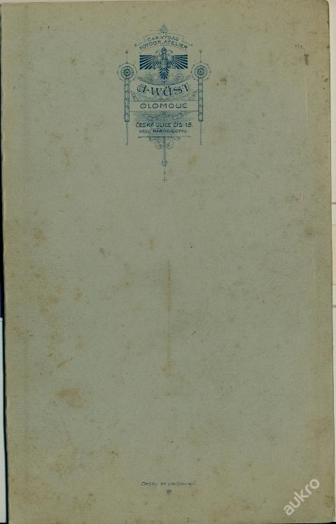1900 Wüst Olomouc: Svatební (5282063052) - Aukro - největší obchodní portál