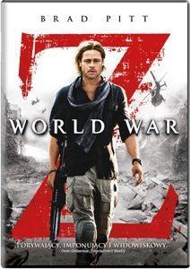 """Brad Pitt ratuje świat przed zombie ;)! Widowiskowy """"World War Z"""" już na DVD!"""