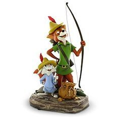 *SKIPPY & ROBIN ~ Disney Robin Hood and Skippy Figure | Disney StoreRobin Hood and Skippy Figure - Merrie men and women of Sherwood Forest - and Disney collectors everywhere - will celebrate the return of foxy avenger Robin Hood and his sidekick Skippy Rabbit on this fully sculptured statuette that's sure to become legendary!