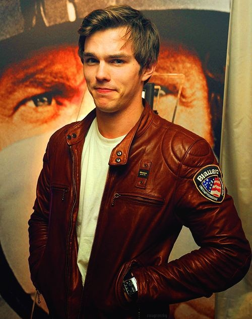 Loved him since X-Men First Class, but he looks good in Warm Bodies too. Nicholas Hoult.
