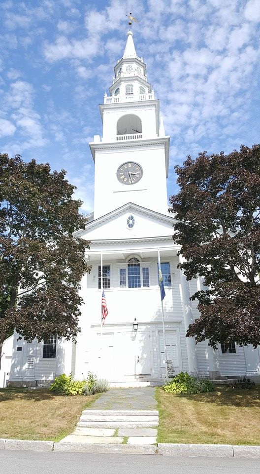 Fitzwilliam New Hampshire Town Hall July 2016