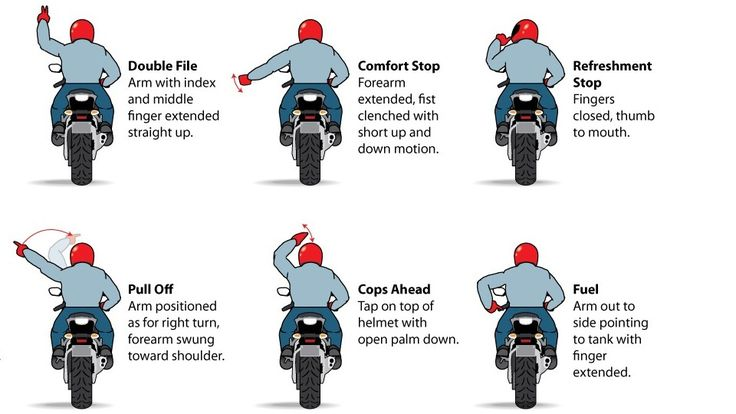 12 Motorcycle Hand Signals You Should Know Et