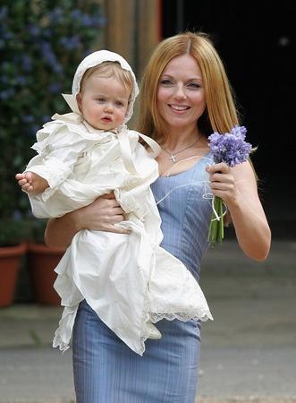 Geri Halliwell And Sacha Gervasi Name Bluebell Madonna