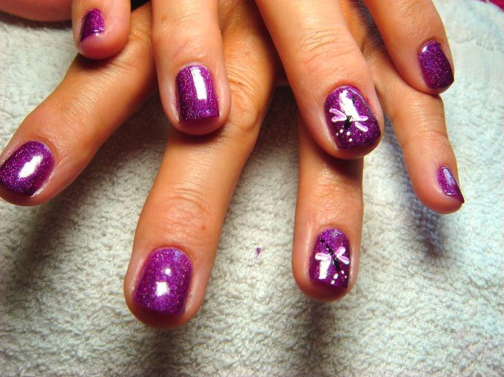 nascar nail designs | Dragonfly Nail Art Graphics Code | Dragonfly Nail Art Comments ...