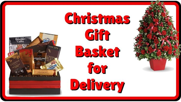 Holiday Christmas Gift Basket Delivery