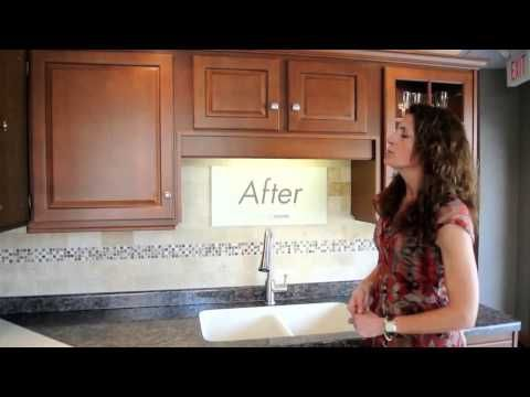 Kitchen Cabinet Refacing Before and After Kitchen Solvers - YouTube