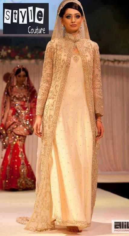 LOVE THIS STYLE FOR A MACHINE EMBROIDERED CHIFFON JACKET OVER A SHINY FABRIC... LIKE MOMS GOLD SILK SUIT #Abayas