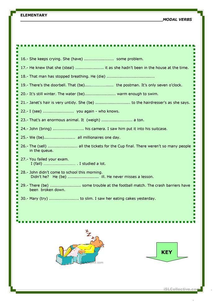 Modal Verbs Degrees Of Certai Nty Teaching Jobs Modal Verb