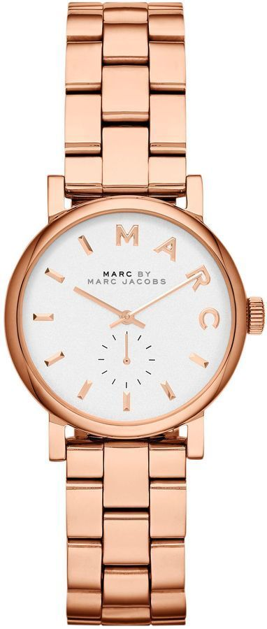 Marc by Marc Jacobs Rose Gold Watch - discount womens watches sale, designer watches for womens sale, big face watches womens