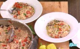 #Ριζότο με #ντομάτες, #φέτα και #ελιέςΚαλαμών #eleni #ελενη #ΒασίληςΚαλλίδης
