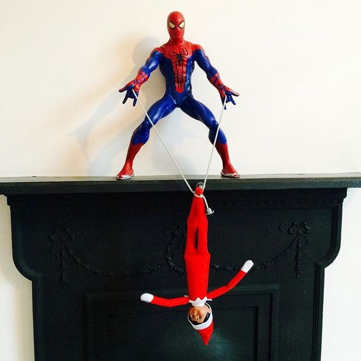Elf on the shelf - spidy webs