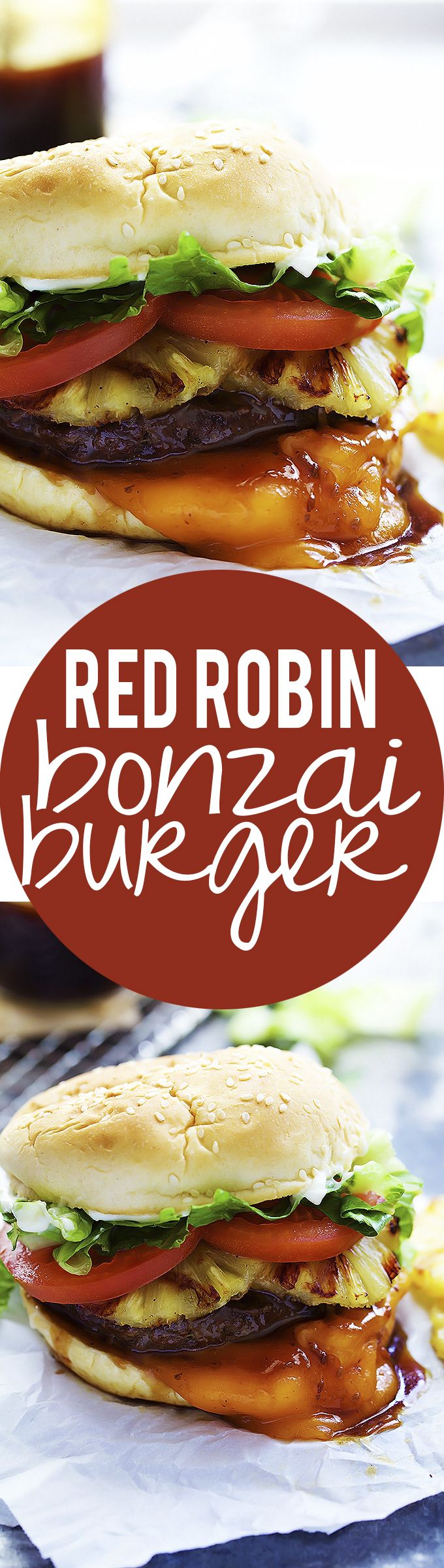 Copycat Red Robin Bonzai Burger | Creme de la Crumb