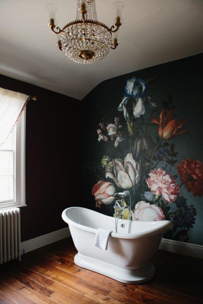 Best The 25 Best Black Floral Wallpaper Ideas On Pinterest 400 x 300