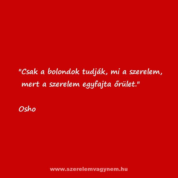 Szerelmes idézet Oshotól
