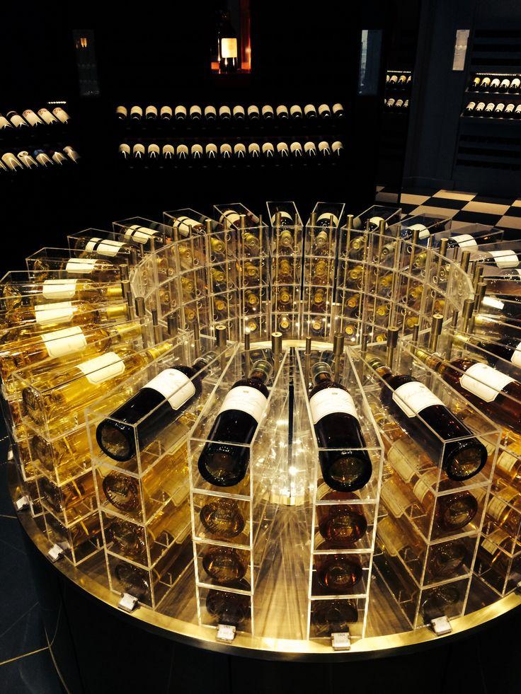 Bordeaux wines in Gallerie Lafayette, Paris
