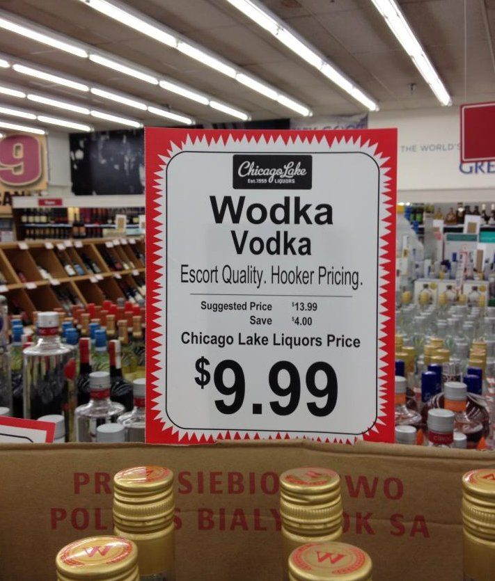 Chicago Lake Liquor Store Offers 'Escort Quality, Hooker Pricing' (PHOTO)