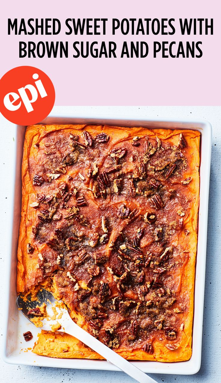 59 best best potato recipes images on pinterest best mashed mashed sweet potatoes with brown sugar and pecans recipe epicurious forumfinder Gallery