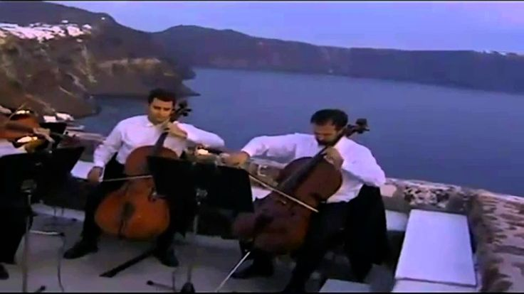 The Last Sunset of the 20th Century was celebrated on Santorini with this poignant concert featuring Manos Hatzidakis' music...life isn't the same unless you experience a sunset from this incredible Isle!
