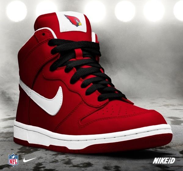 Women's Arizona Cardinals Nike Cardinal Custom Game Jersey