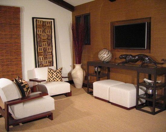 Modern Home Office Furniture Home Design Ideas Pictures: Awesome African Furniture To Create Charming African