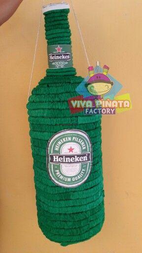 Ya comenzaron los pedidos del mes patrio e iniciamos con piñatas de cervezas... Cuntos cartones van a querer?