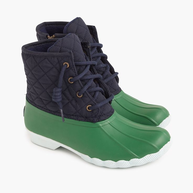 Women's Sperry® for J.Crew Shearwater quilted boots : Sperry Top-Sider | J.Crew - size 8
