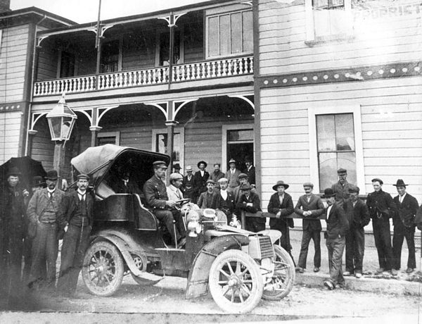Wairarapa Past: First car arrives in Eketahuna, 1903