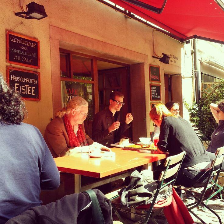 Café zum Roten Engel in Basel, Basel-Stadt
