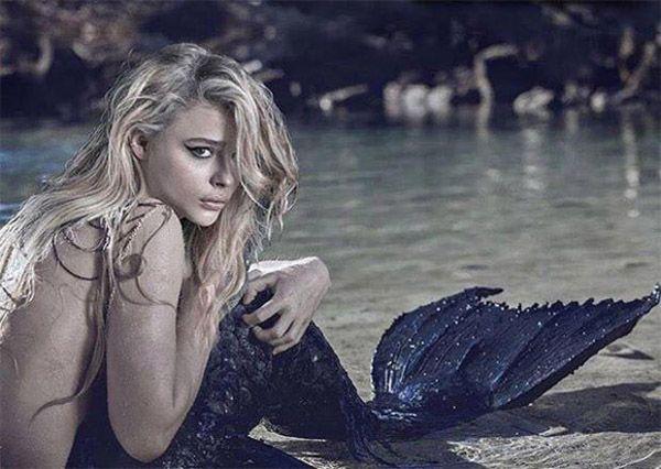 "Causa polémica imagen de Moretz en ""La Sirenita"""