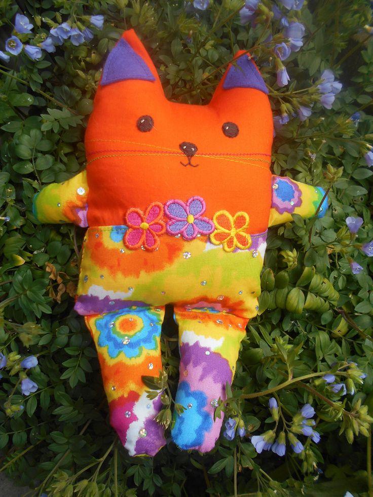 Bright Cat soft doll