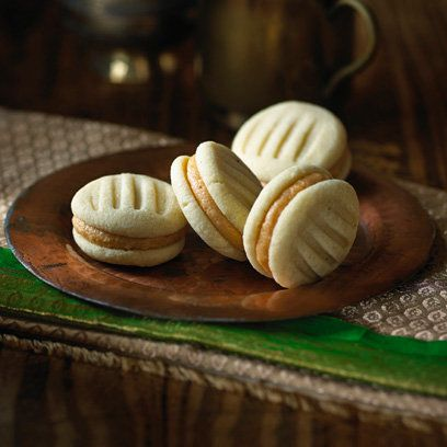 Vanilla chai melting moments by Ravinder Bhogal for Tea India