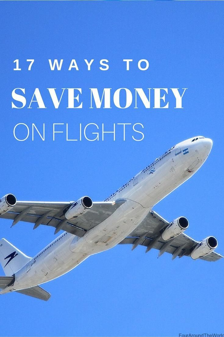 #TravelTipTuesday 17 ways to save money on flights - cut the cost of your airfares