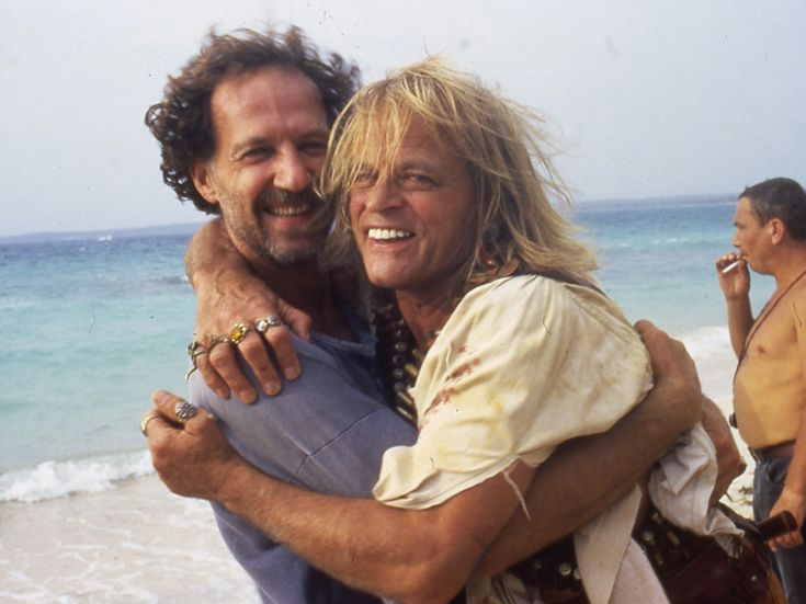 Werner Herzog and Klaus Kinski