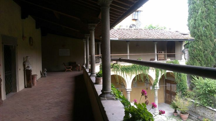 Terrace above the Cloisters