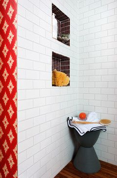 Subway Tile Bathroom Design Ideas, Pictures, Remodel, and Decor - page 6