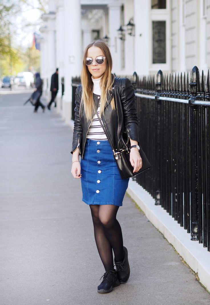 Ejvi Freedom: LONDON DAY 2 // BUTTON FRONT SKIRT