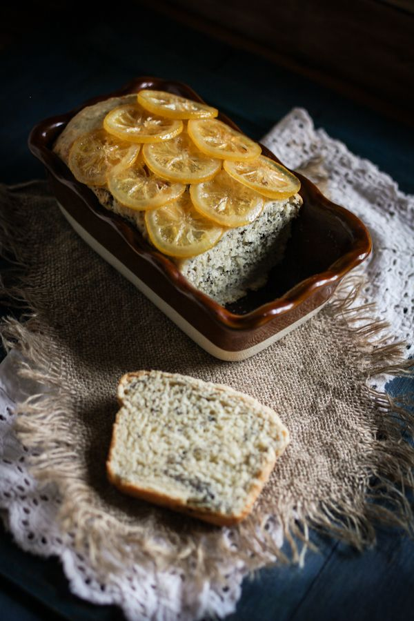 Very Lemon Loaf with Poppy Seeds
