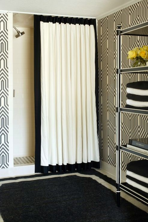 136 best shower curtains images on Pinterest Curtains Bathroom